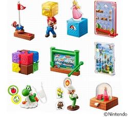 ハッピーセット「スーパーマリオ」、おもちゃは10種類
