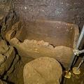 ローマ神話の王ロムルスの石棺か