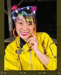 『アイ・アム・冒険少年』でのフワちゃん(画像は『フワちゃん FUWA 2020年6月29日付Twitter「有吉ゼミも冒険少年もみてすぎ」』のスクリーンショット)
