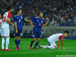 1ゴールの日本代表FW永井謙佑