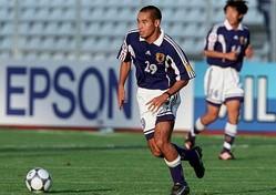 長きに渡り日本代表の前線で中軸を担った高原。アジアカップは2大会に出場し、合計9得点を叩き出した。(C)Getty Images