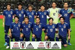 サッカー日本代表の新ユニホームのデザインがついに発表される。写真:金子拓弥(サッカーダイジェスト写真部)