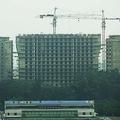新義州で現在建設中のホテル(画像:デイリーNK内部情報筋)