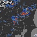 東京都心周辺で激しい雨が降るおそれ 22日の明け方にかけ道路の冠水に注意