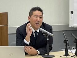 立花孝志氏がNHK「日曜討論」のギャラ明かす 山本太郎氏の行動にも言及