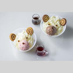 キュートなくまにショコラの氷!表参道ヒルズにこの夏限定のオリジナルかき氷7種が登場