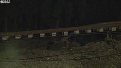 JR両毛線・鉄橋崩れる 栃木市から中継