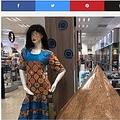 大手ドラッグストアに展示されたマネキンに人々は怒り(画像は『TimesLIVE 2020年2月21日「'It was an isolated incident': Dis-Chem apologises for black face mannequin」』のスクリーンショット)