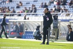 高校選抜に勝利した横浜FMユースの筒井紀章監督が2得点の中村翼を評価…「どこでもこなせる選手」