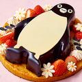 """春の贈り物に!""""Suicaのペンギン""""のホワイトチョコレートケーキが登場"""