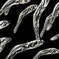 煮干しをメタル化したミニフィギュア 用途は謎のカプセルトイ