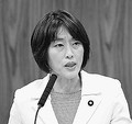 (写真)質問する田村智子議員=28日、参院内閣委