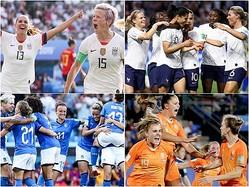 女子W杯8強が決定…女王アメリカ以外の7チームが欧州勢に