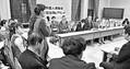 (写真)外国人技能実習生に関する野党合同ヒアリング=13日、国会内