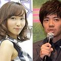 交際を宣言した吉木りさと和田正人(写真左は2014年、右は2015年撮影)