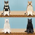 座るシリーズ「座る犬」が6月1日から発売、柴犬の毛色をベースに