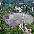 プエルトリコにある世界最大級の電波望遠鏡が稼働停止 原因不明の事故