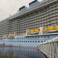 アジア最大の豪華客船の内部を見学 フルコースが食べ放題?