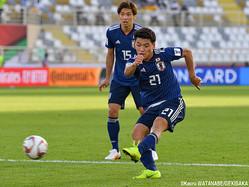 決勝ゴールを叩き込んだ日本代表MF堂安律(フローニンゲン)