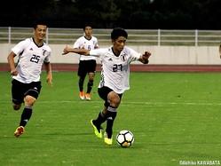 U-16日本代表MF荒木遼太郎は練習試合でアピールしてアジアの戦いへ