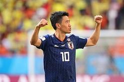 注目の10番は香川! 日本代表の背番号発表…中島は8番、鎌田は18番