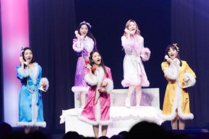 韓国女性グループRed Velvet、ファンと作り上げた心温まる空間