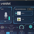 リアルタイム音声変換システム「Voidol」の操作画面