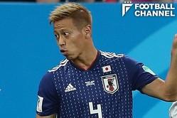 本田圭佑のコーナーキックの判断にイタリアの名将から厳しい指摘が飛んだ【写真:Getty Images】