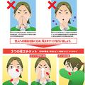 「進撃の咳エチケット」リーフレット