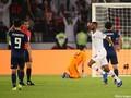 アジアカップ決勝は0-2とカタールにリードを許して前半を折り返した