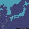 台風5号の影響で大雨の可能性も