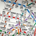 導入は約50年前 地下鉄の路線ごとに違うラインカラーの意味