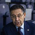 バルセロナのバルトメウ前会長(AP)