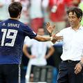 ロシアW杯 日本対ポーランド戦での西野朗監督(写真:ゲッティ)