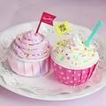 おもわず食べたくなる♪「バスボムカップケーキ」
