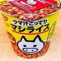 日清食品「立川マシマシ ウマ汁こってりマシライス」
