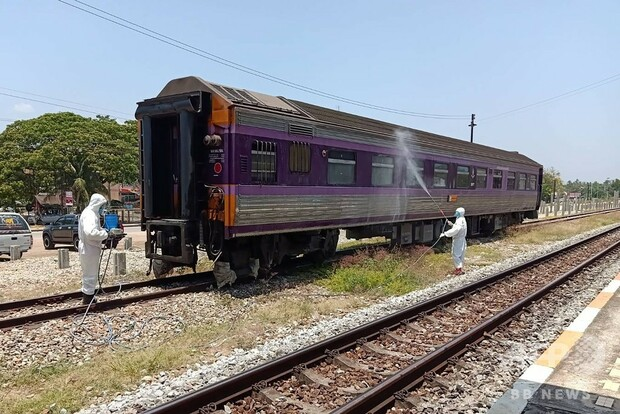 [画像] 列車内で死亡の男性、新型コロナ検査で陽性 タイ