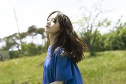 主演を務める映画『宇宙でいちばんあかるい屋根』の主題歌を担当する清原果耶(C)2020『宇宙でいちばんあかるい屋根』製作委員会