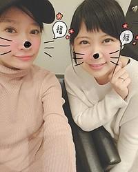 篠原涼子と絢香(画像は『絢香 Ayaka 2019年1月3日付Instagram「映画がご縁となり、2人ランチをしてきた」』のスクリーンショット)