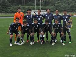 U-17W杯に臨むU-17日本代表メンバーが発表された