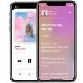 Apple Musicでの歌詞表示 音楽と同期して色が変化するように