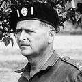 マイク・ホアー氏。現在のコンゴ民主共和国で(1964年12月撮影)。(c)CENTRAL PRESS / AFP