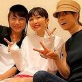 矢井田瞳とhitomi「Wヒトミ」が初対面 持田香織との3ショット公開