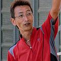 柏井正樹さん=2014年9月、松江市