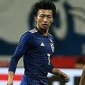 10月シリーズで2試合に出場した柴崎の動きにキレはなかった。写真:山崎賢人(サッカーダイジェスト写真部)
