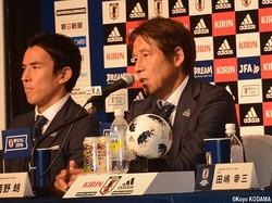 日本代表監督退任が濃厚となった西野朗監督