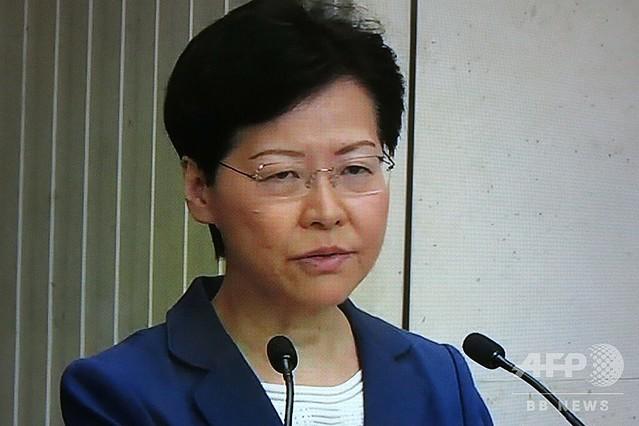 [画像] 「いつ死ぬつもりですか?」 香港行政長官、記者会見で集中砲火浴びる
