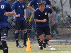 U-21日本代表DF杉岡大暉(湘南)