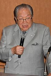 藤木幸夫横浜港運協会会長