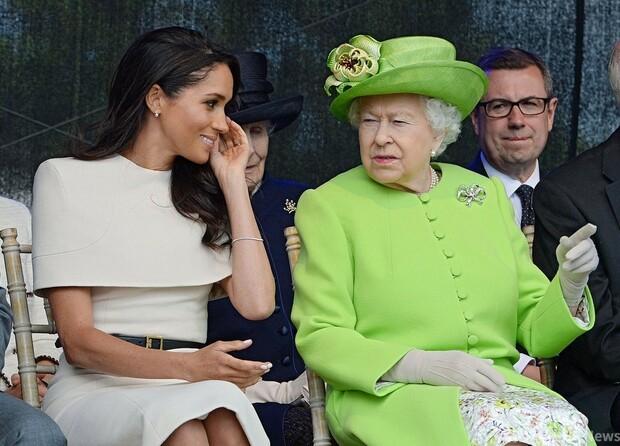 [画像] 英王室の人種差別疑惑、女王夫妻は関与せずとオプラ氏